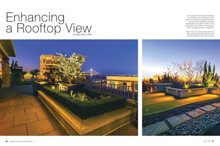 Charleston Rooftop Lighting